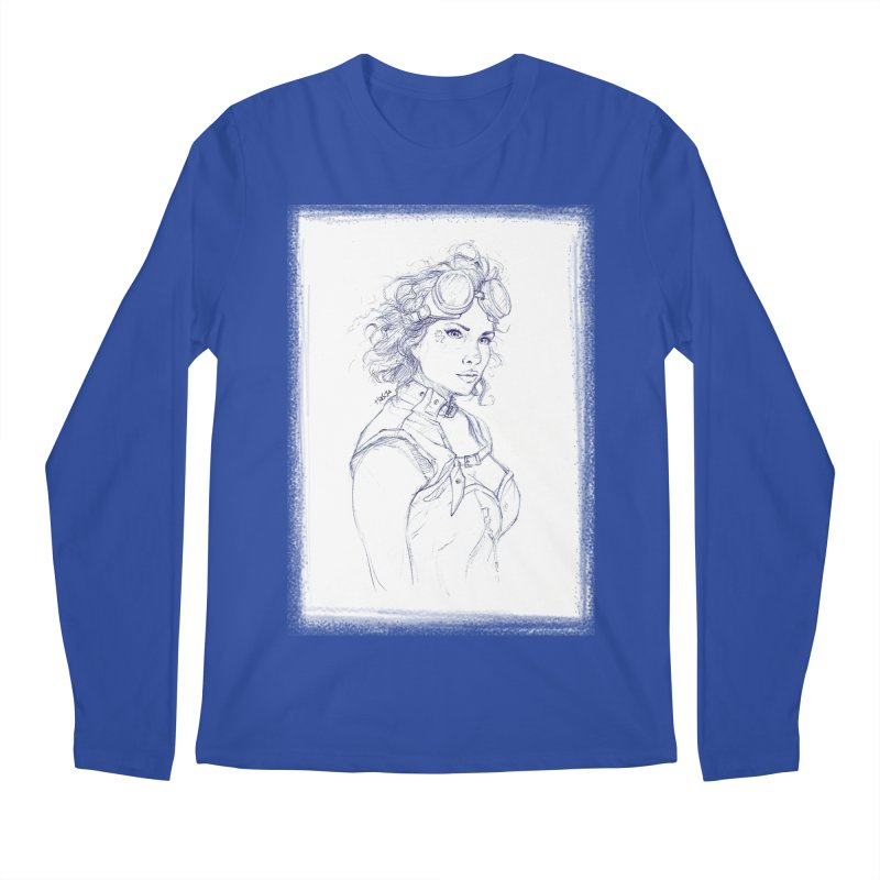 jessie Punk Men's Longsleeve T-Shirt by Hasan's Crib
