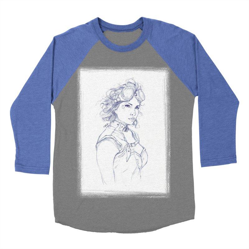 jessie Punk Women's Baseball Triblend T-Shirt by Hasan's Crib