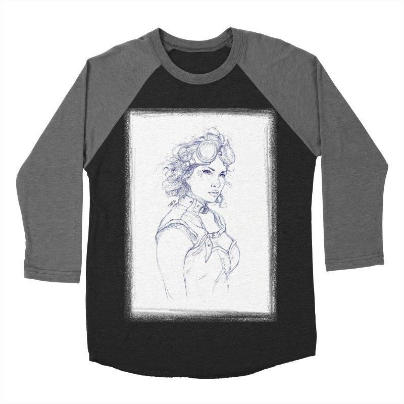 jessie Punk Men's Baseball Triblend T-Shirt by Hasan's Crib