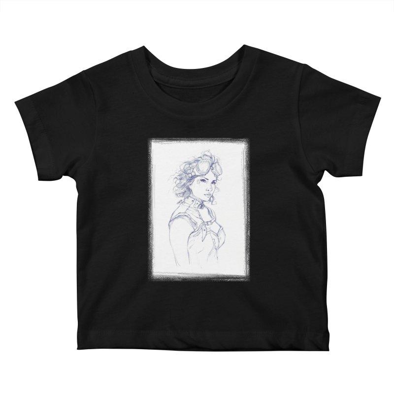 jessie Punk Kids Baby T-Shirt by Hasan's Crib