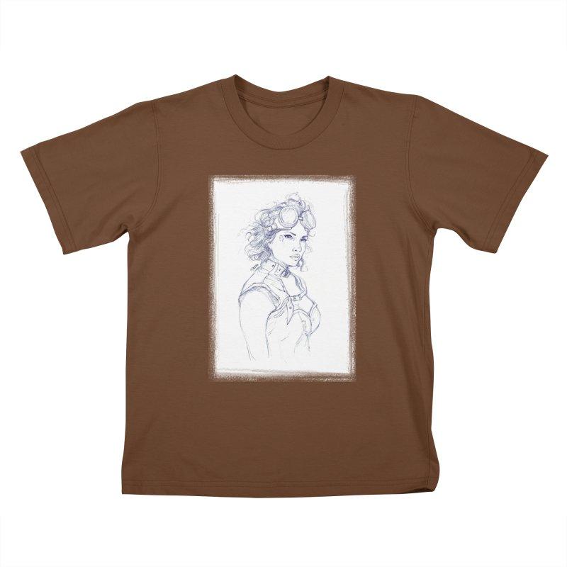jessie Punk Kids T-Shirt by Hasan's Crib