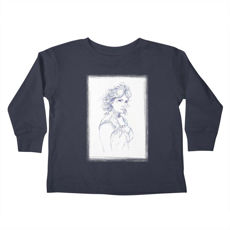 jessie Punk Kids Toddler Longsleeve T-Shirt by Hasan's Crib