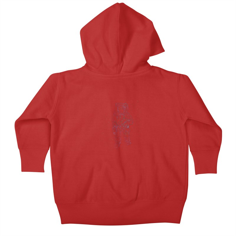 Spaceman Kids Baby Zip-Up Hoody by Hasan's Crib