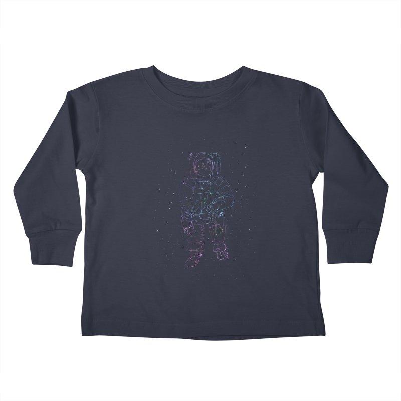 Spaceman Kids Toddler Longsleeve T-Shirt by Hasan's Crib
