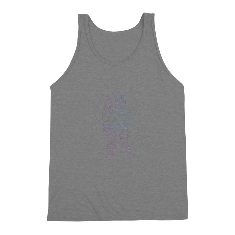 Spaceman Men's Triblend Tank by Hasan's Crib
