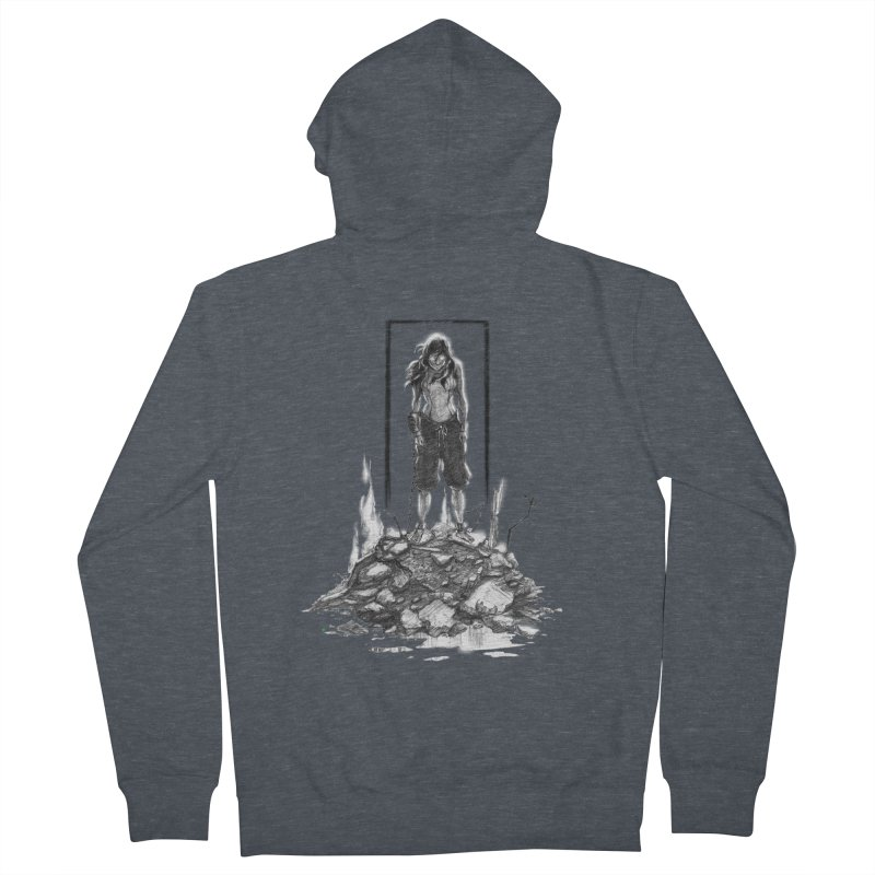 evil Korra Men's Zip-Up Hoody by Hasan's Crib