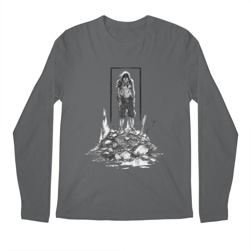 evil Korra Men's Longsleeve T-Shirt by Hasan's Crib