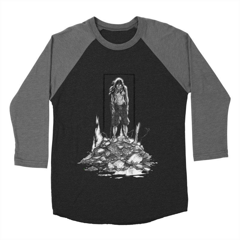 evil Korra Men's Baseball Triblend T-Shirt by Hasan's Crib