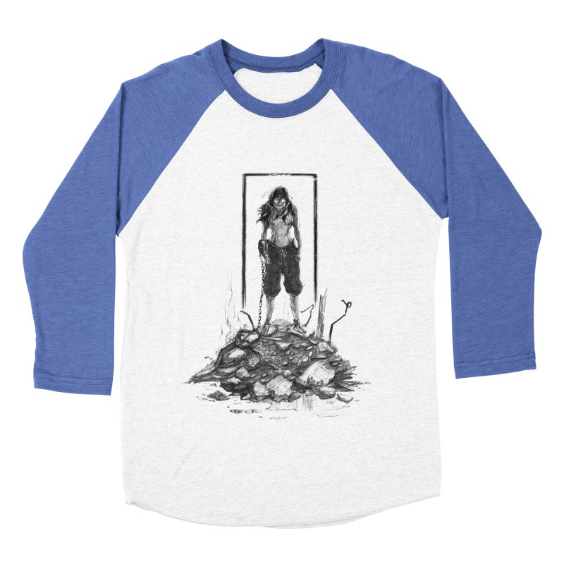 evil Korra Men's Baseball Triblend T-Shirt by Hasan's Crib