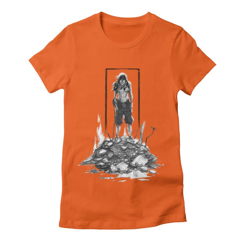 evil Korra Women's Fitted T-Shirt by Hasan's Crib