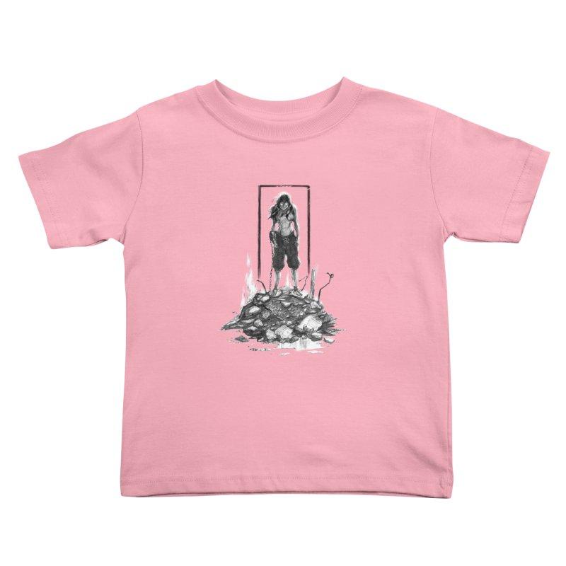 evil Korra Kids Toddler T-Shirt by Hasan's Crib