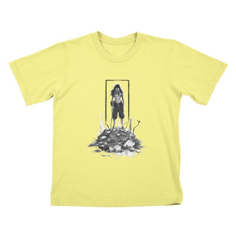 evil Korra Kids T-shirt by Hasan's Crib