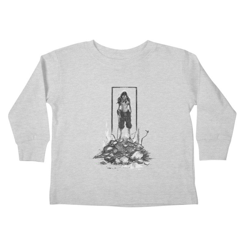evil Korra Kids Toddler Longsleeve T-Shirt by Hasan's Crib