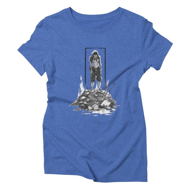 evil Korra Women's Triblend T-Shirt by Hasan's Crib