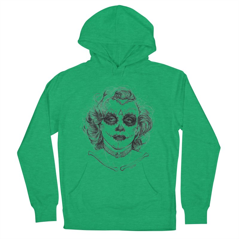 dead Monroe Men's Pullover Hoody by Hasan's Crib