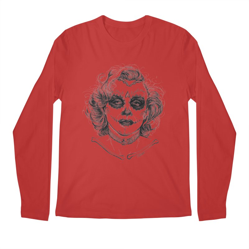 dead Monroe Men's Longsleeve T-Shirt by Hasan's Crib