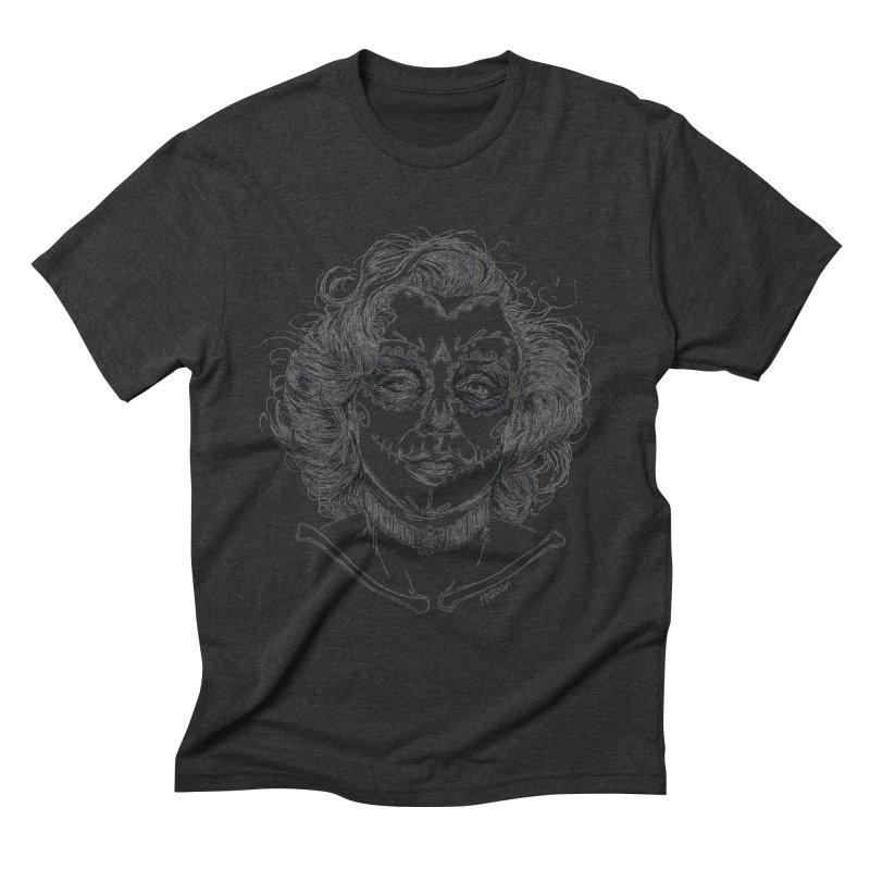 dead Monroe Men's Triblend T-shirt by Hasan's Crib