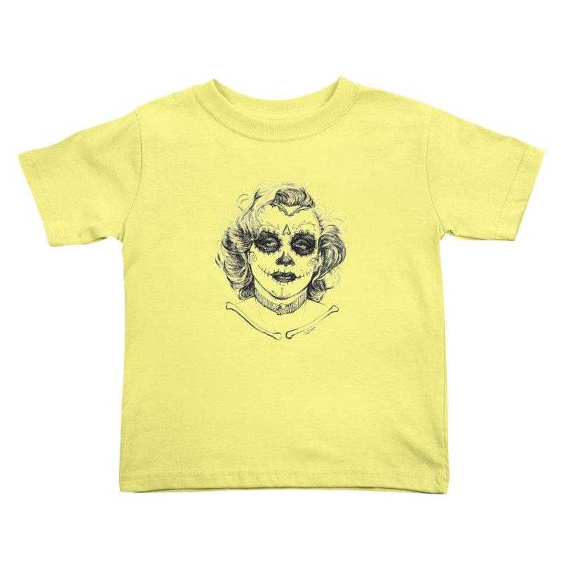 dead Monroe Kids Toddler T-Shirt by Hasan's Crib