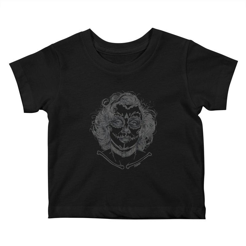 dead Monroe Kids Baby T-Shirt by Hasan's Crib