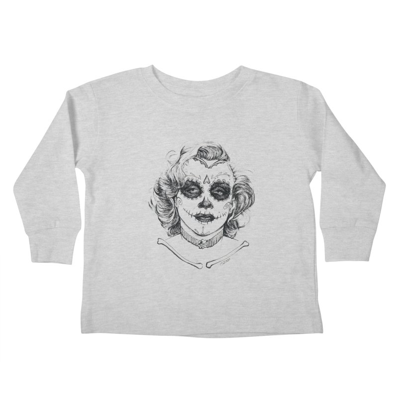 dead Monroe Kids Toddler Longsleeve T-Shirt by Hasan's Crib