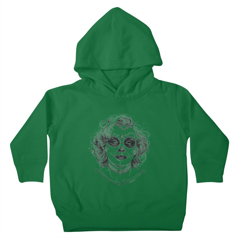 dead Monroe Kids Toddler Pullover Hoody by Hasan's Crib