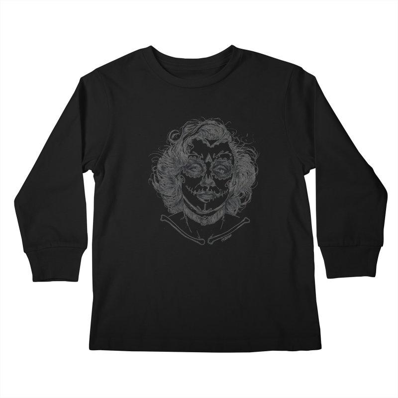 dead Monroe Kids Longsleeve T-Shirt by Hasan's Crib