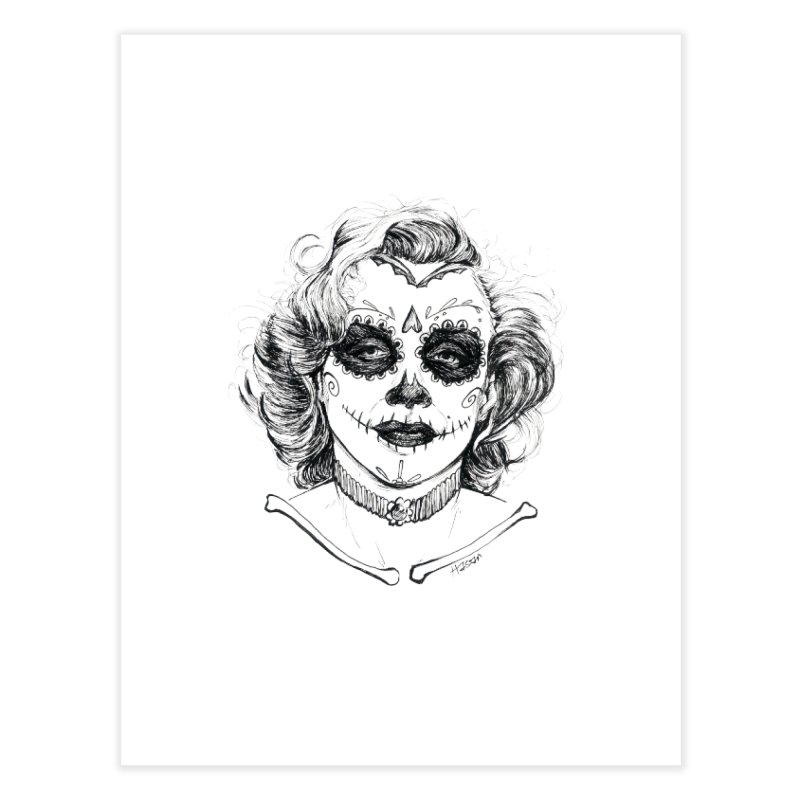 dead Monroe Home Fine Art Print by Hasan's Crib