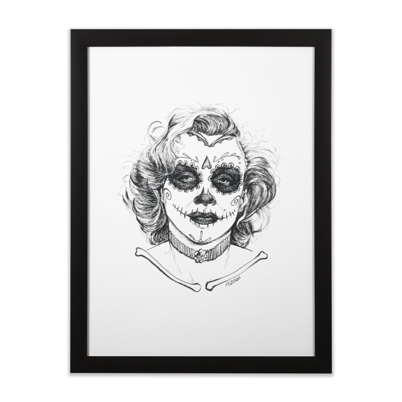 dead Monroe Home Framed Fine Art Print by Hasan's Crib