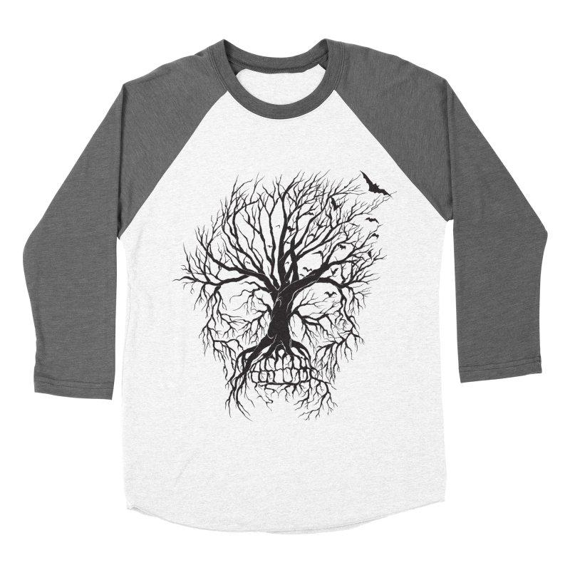 dead Tree Women's Baseball Triblend T-Shirt by Hasan's Crib