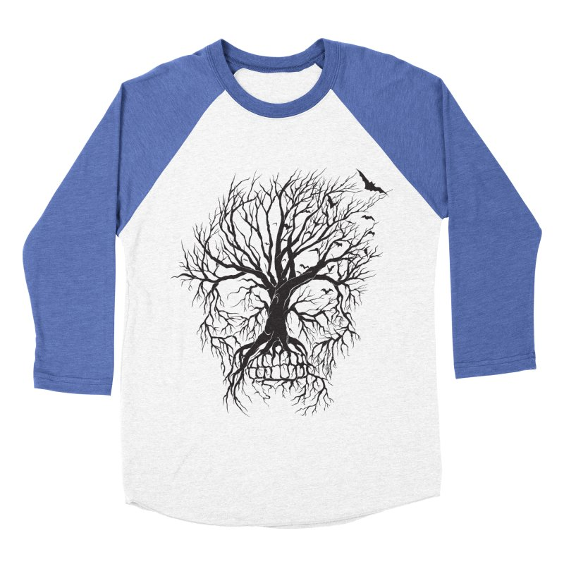 dead Tree Men's Baseball Triblend T-Shirt by Hasan's Crib