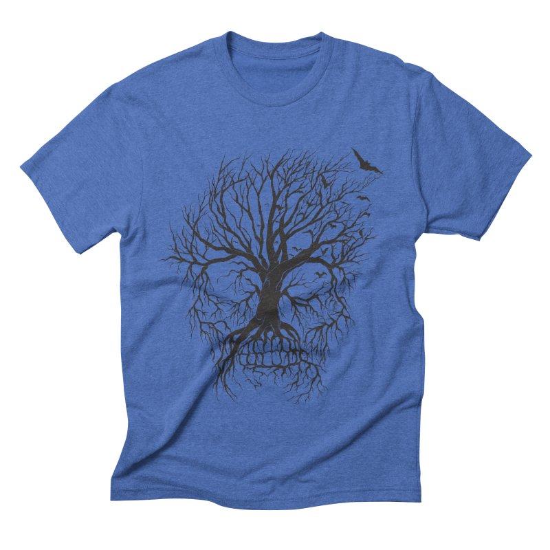 dead Tree Men's Triblend T-shirt by Hasan's Crib