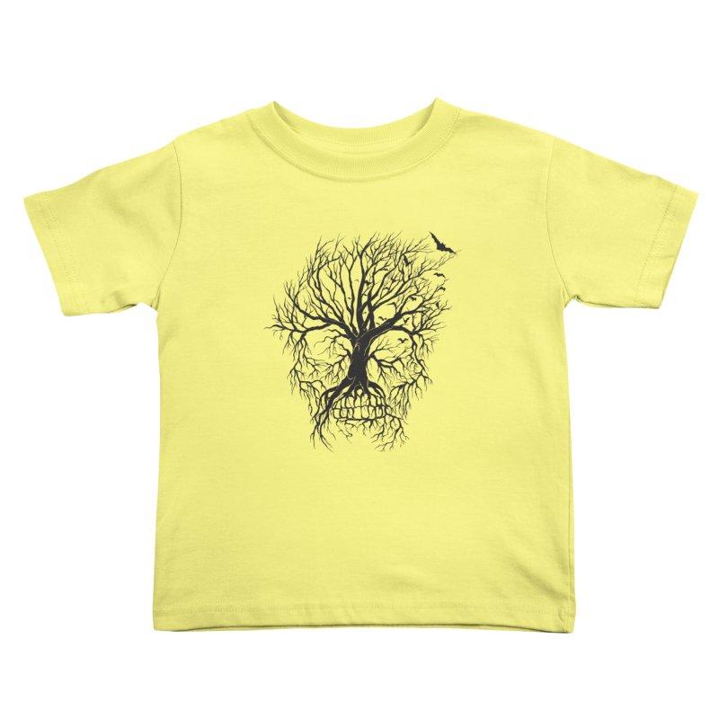 dead Tree Kids Toddler T-Shirt by Hasan's Crib