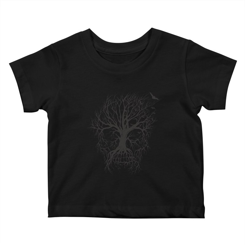 dead Tree Kids Baby T-Shirt by Hasan's Crib