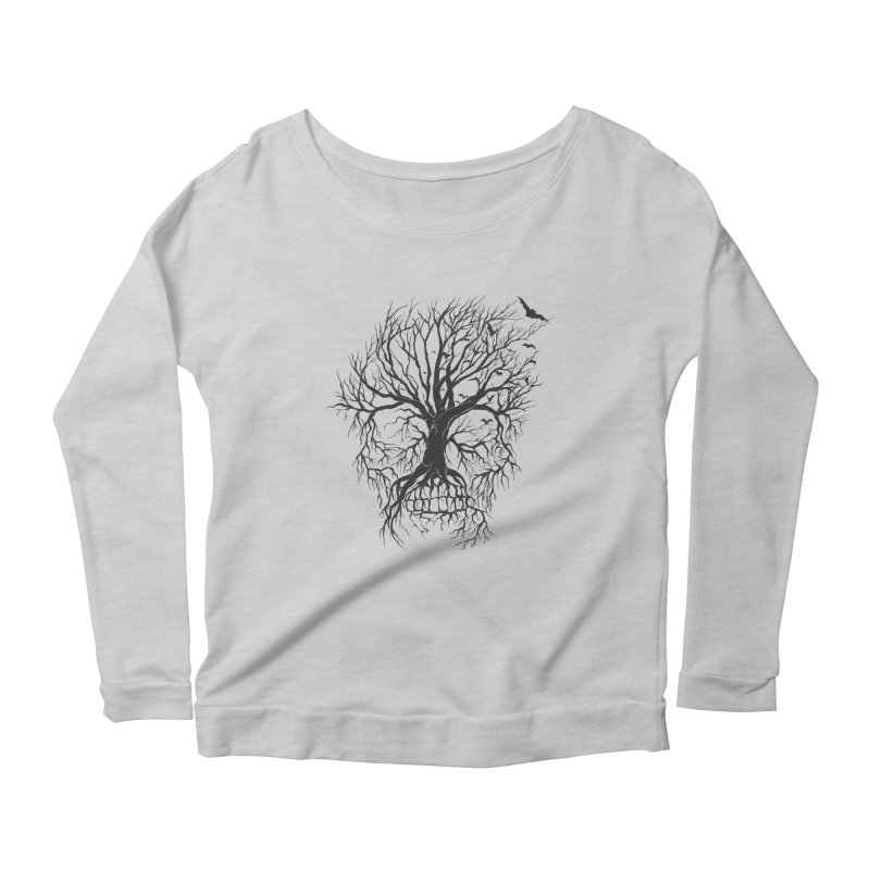 dead Tree Women's Longsleeve Scoopneck  by Hasan's Crib
