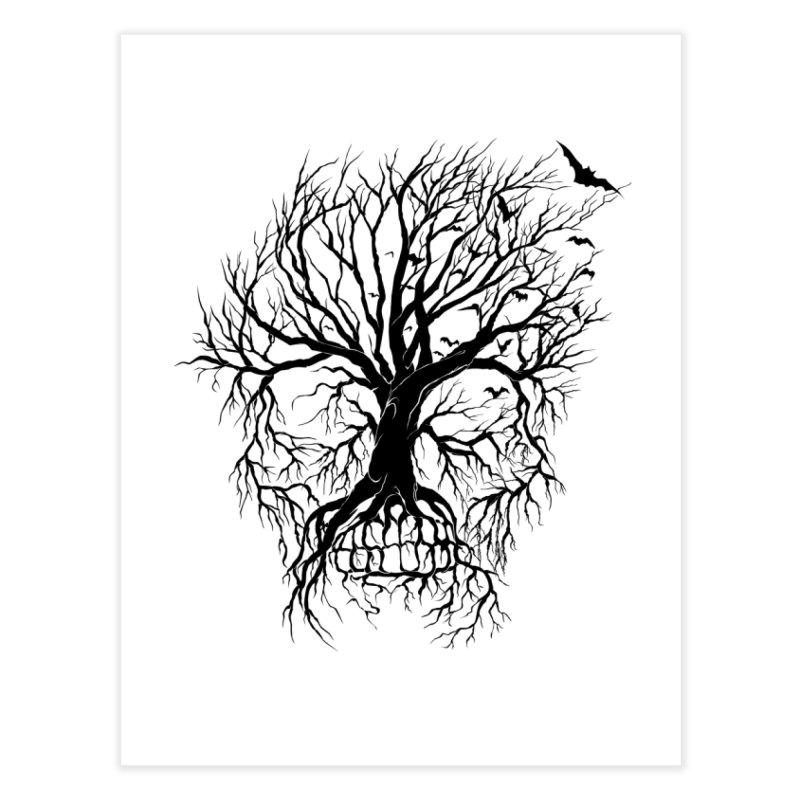 dead Tree Home Fine Art Print by Hasan's Crib
