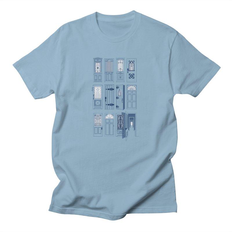 Life Is Doors Men's T-Shirt by [HAS HEART]