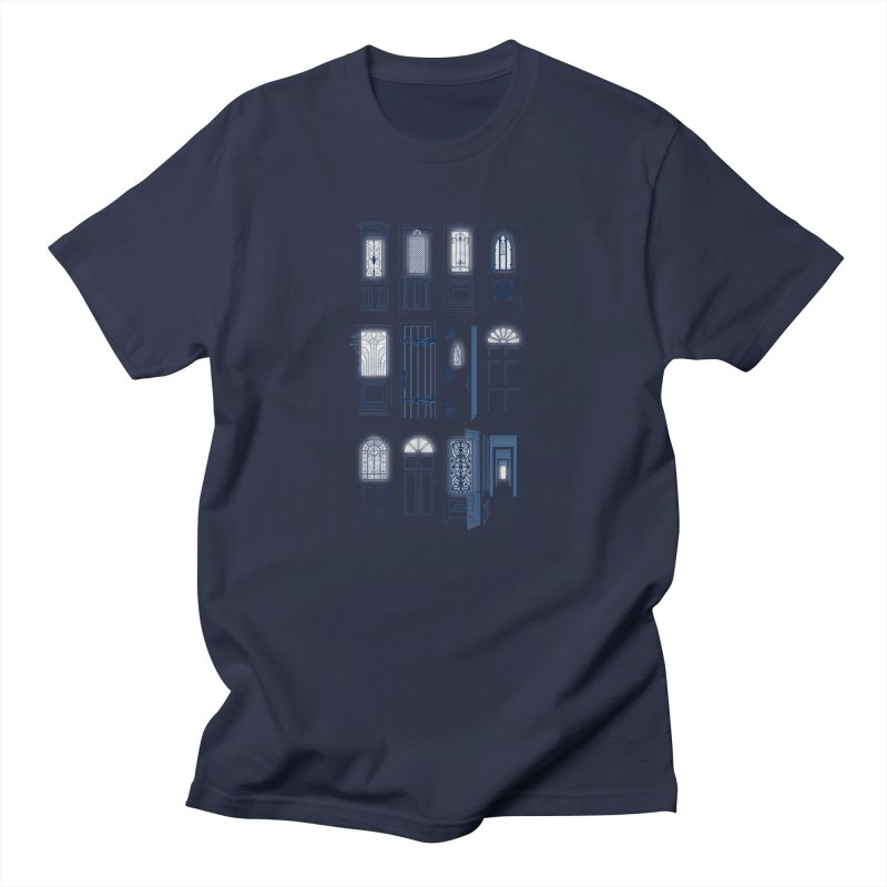 Life Is Doors Men's T-Shirt by [HAS HEART]