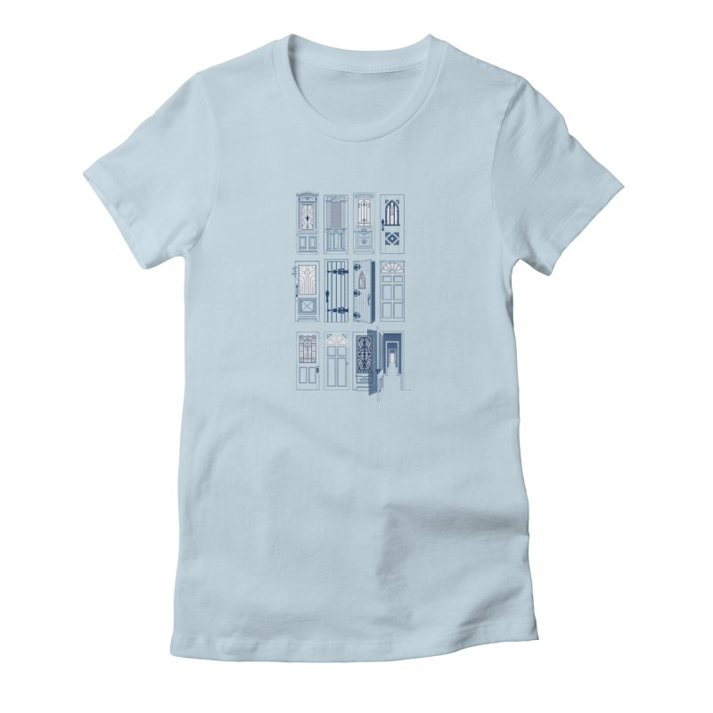 Life Is Doors Women's T-Shirt by [HAS HEART]