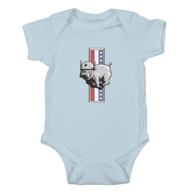Relentless Kids Baby Bodysuit by [HAS HEART]