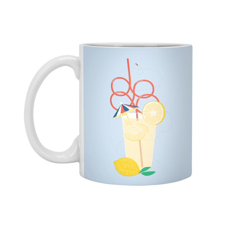 Best Damn Lemonade Accessories Standard Mug by [HAS HEART]