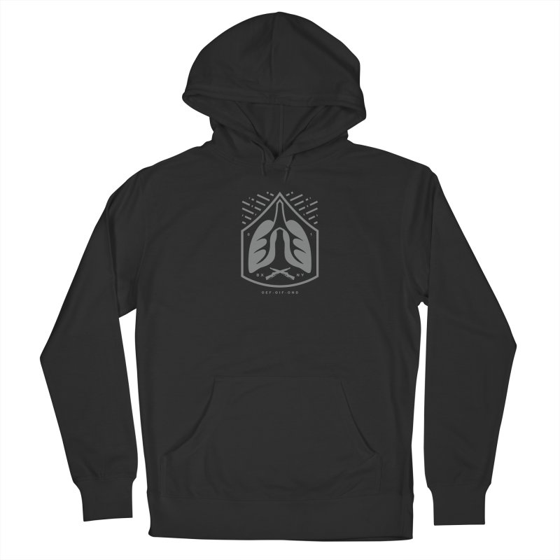 Invisible Wounds Men's Pullover Hoody by [HAS HEART]