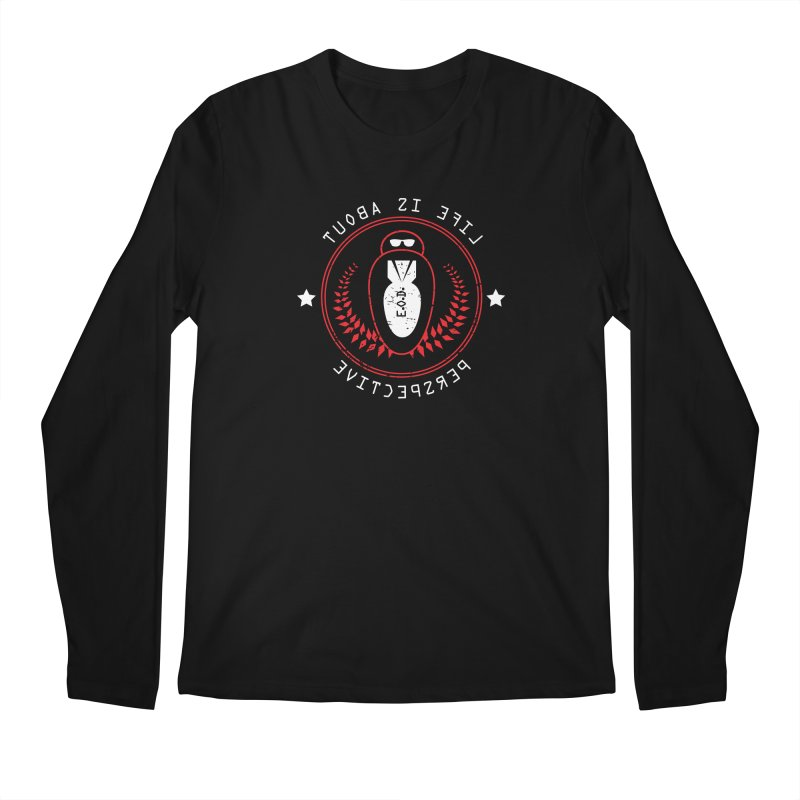 Life Is About Perspective Men's Regular Longsleeve T-Shirt by [HAS HEART]