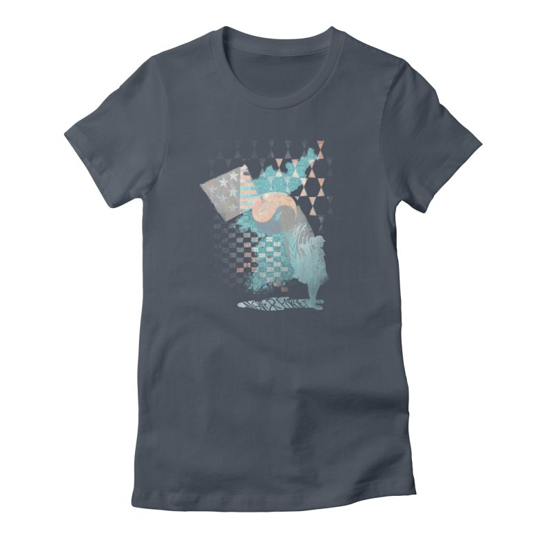 Never Forget Women's T-Shirt by [HAS HEART]
