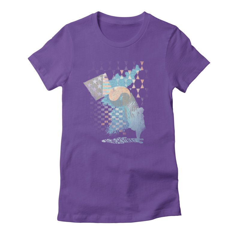 Never Forget Women's Fitted T-Shirt by [HAS HEART]