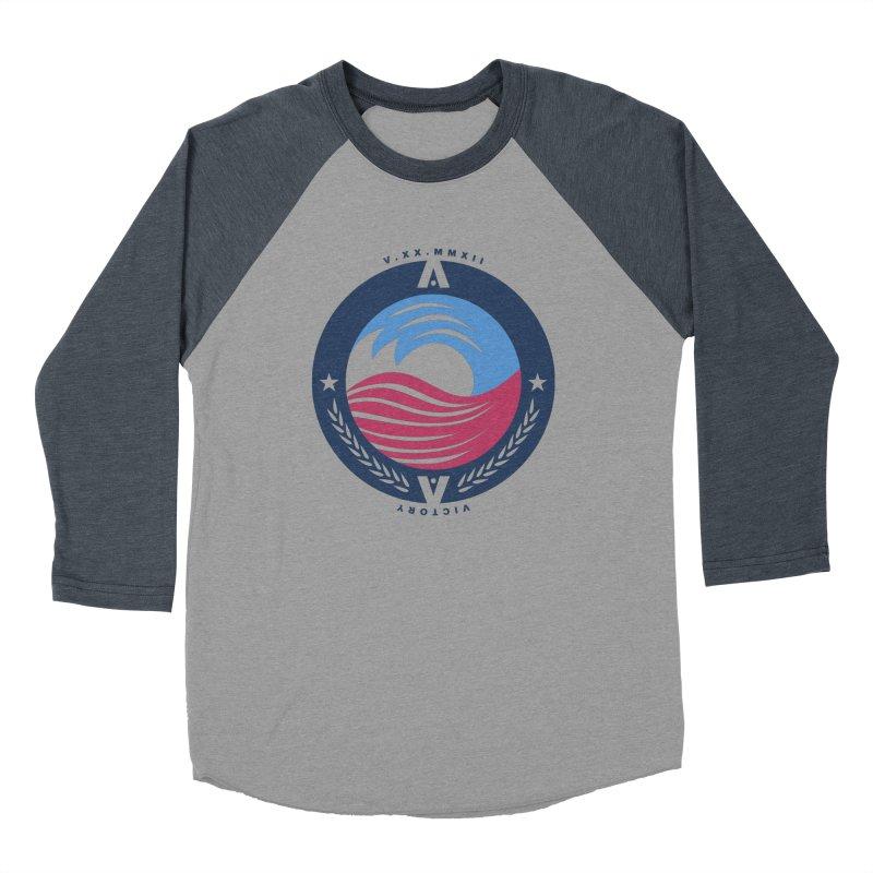 Victory Men's Longsleeve T-Shirt by [HAS HEART]