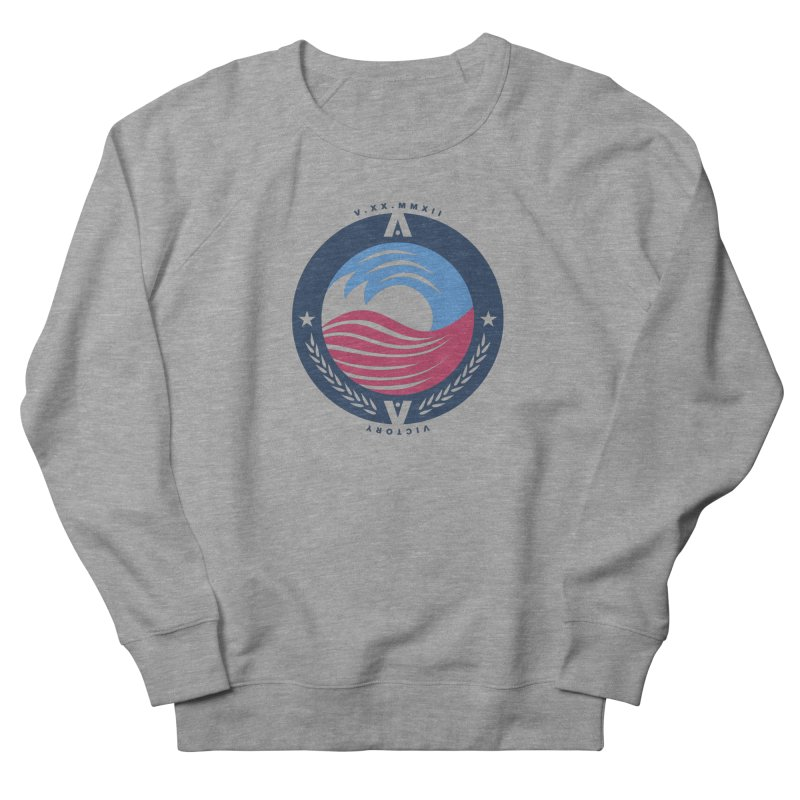 Victory Women's French Terry Sweatshirt by [HAS HEART]