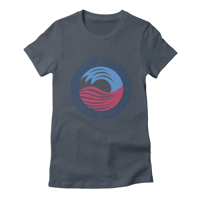 Victory Women's Fitted T-Shirt by [HAS HEART]