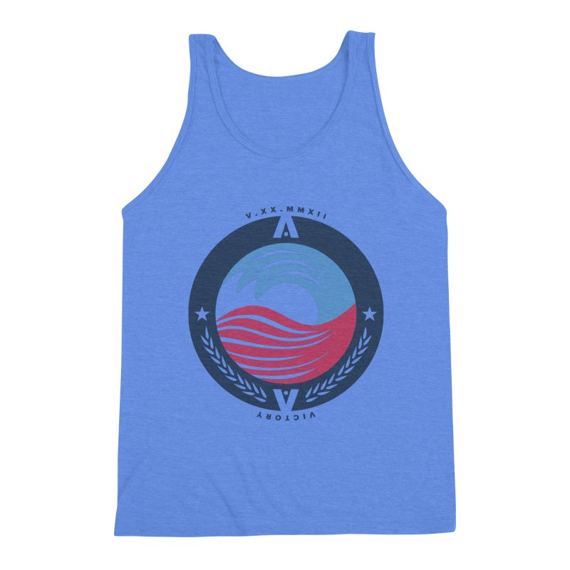 Victory Men's Triblend Tank by [HAS HEART]