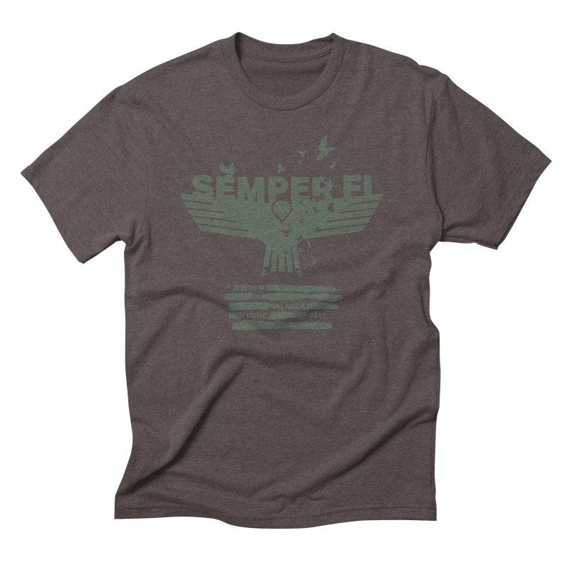 Wisdom in Balance Men's Triblend T-shirt by [HAS HEART]