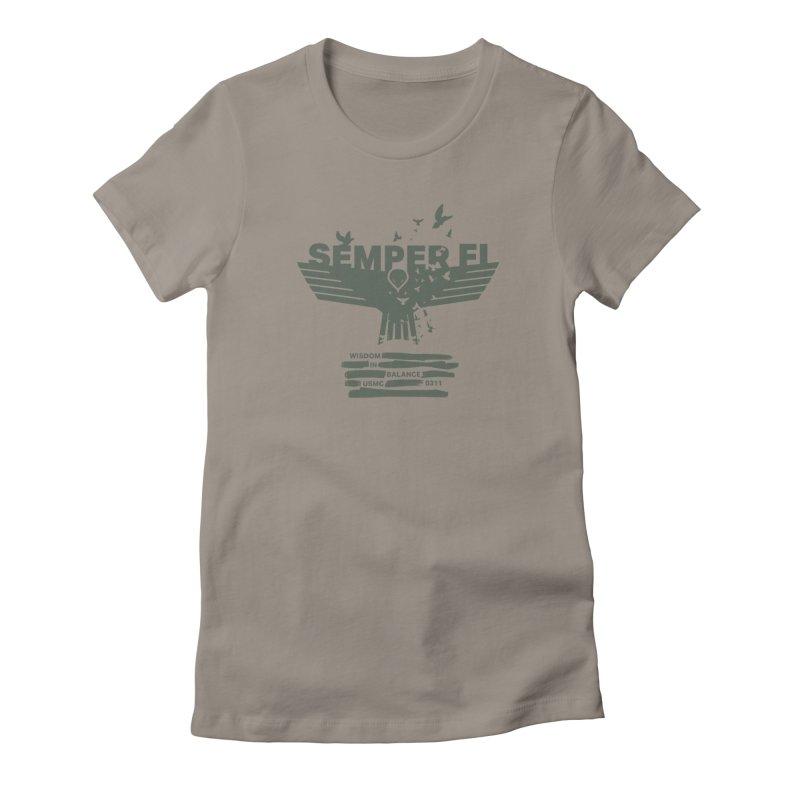 Wisdom in Balance Women's T-Shirt by [HAS HEART]